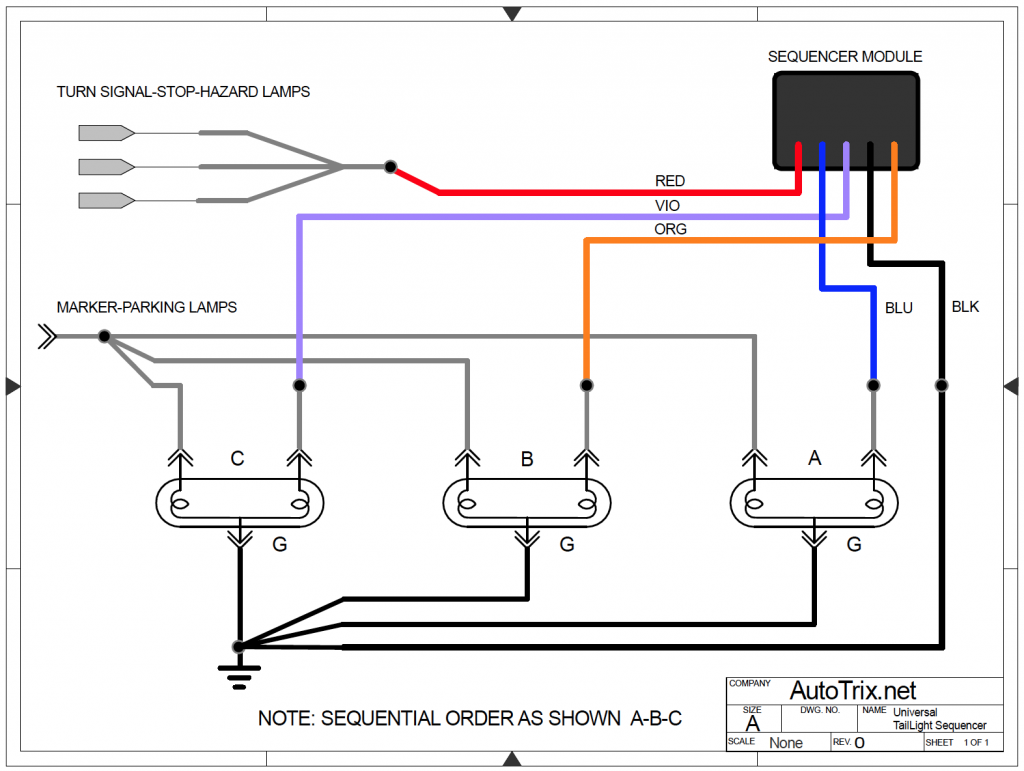 universal Sequencer electrical diagram
