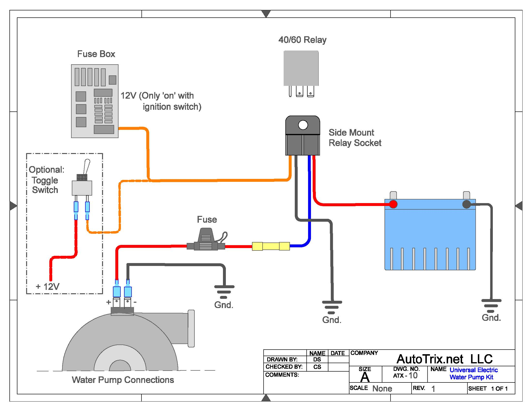 Pleasant Electric Water Pump Relay Wiring Diagram General Wiring Diagram Data Wiring Digital Resources Bemuashebarightsorg
