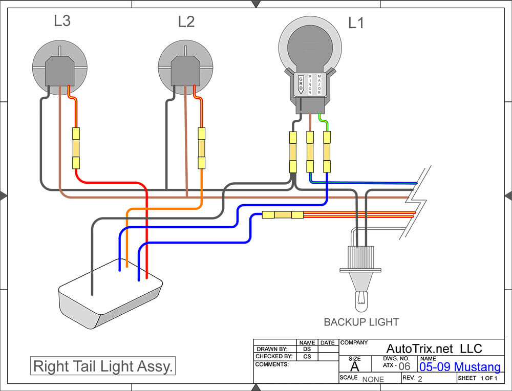 1965 Mustang Turn Signal Wiring Diagram from www.autotrix.net